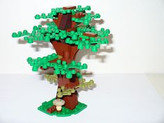 NEW LEGO Castle game hobbit medieval Village small green leaf branch tree forest #LEGO