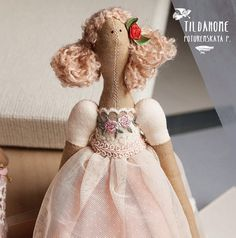 TILDA HOME-C/L...(so dainty...so pretty! i love her feminine bodice.)....