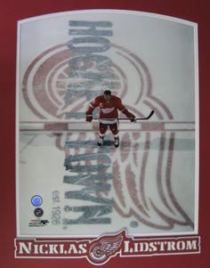 Detroit Red Wings Nicklas Lidstrom
