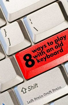 An old recycled keyboard gives kids tons of ways to play and learn. STEM learning made fun. Science Activities For Kids, Cool Science Experiments, Stem Science, Stem Activities, Science Projects, Educational Activities, Learning Activities, School Projects, School Ideas
