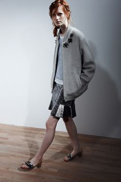 marc by marc jacobs resort '14  love the ease.  male tops female bottom.  easy casual dressing