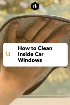 How to Clean Inside Car Windows Window Cleaning Solutions, Car Cleaning Hacks, Inside Car, Project Steps, Perfect Glass, Window Cleaner, Car Windows, Smudging, Truck