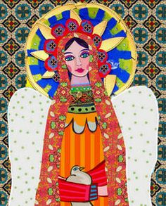 mexican folk art  Mexican Art  For more ethnic fashion inspirations and tribal style visit www.wandering-threads.com