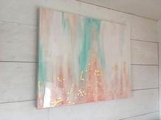 SOLD teal and rose pink epoxy resin abstract painting – Just amazing pieces of work – epoxycan Wine Painting, Oil Painting Abstract, Abstract Canvas, Pour Painting, Diy Wall Art, Resin Art, Gold Leaf, Rose Rosa, Art Paintings