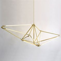 Another gorgeous dining room chandelier! Shy 01 from Matter.