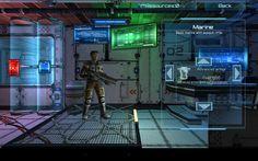 Marines: Alien Invasion unit data.