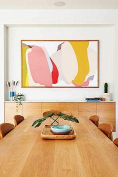 Как выбрать картины для интерьера | Legko.com A Frame Cabin, A Frame House, Diy Home Decor, Room Decor, Bungalow Renovation, Interiors Online, Roof Design, Rustic Design, Home Art