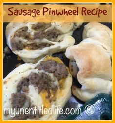 sausage pinwheels recipe                                                                                                                                                      More