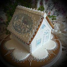 Winter Wonderland  - Cake by Teri Pringle Wood                              …