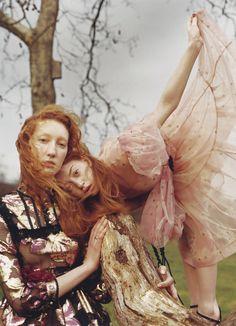 Lorna Foran and Antonia Dewbury photographed by Jesse John Jenkins
