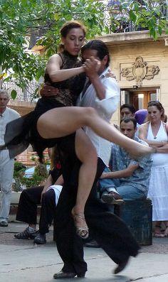 Street Tango, Buenos Aires, Argentina.