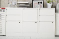 For Me!... Serious filing away can be done with sophistication in our Bisley Cabinets!