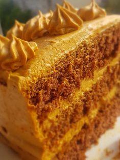 Krémes karamell torta – Hiszed.Com Bakery Recipes, Food And Drink, Pie, Meals, Cooking, Desserts, Sweet Recipes, Caramel, Food And Drinks
