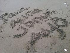 Coret pasir