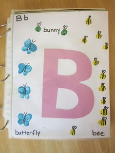 Embellishing Life: Preschool Alphabet Books  page for every letter of the alphabet that a child makes by him or herself