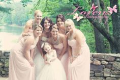 bridal party  For more insipiration visit us at https://facebook.com/theweddingcompanyni or http://www.theweddingcompany.ie