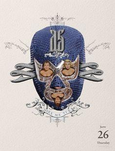 """26/06/2014 El violador enmascarado #collage by Gustavo Solana  Cosas del blog de """"los días contados"""". #illustration  #ilustracion"""