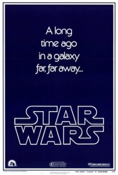 STAR WARS : Costumes and Toys : Star Wars Poster A long time ago in a galaxy far
