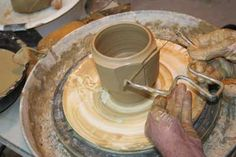 wheel thrown pottery - Google Search