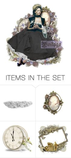 """""""💜Vintage Cameo💜"""" by cindu12 ❤ liked on Polyvore featuring art and vintage"""