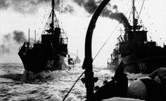 A German minesweeperflotilla