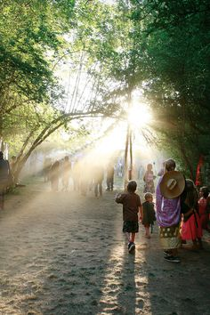 Fair light, Oregon Country Fair