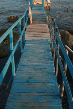 #Paphos harbour jetty.