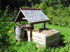 A breakdown of the outdoor composting component of sawdust toilets.