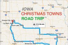 Travel   Iowa   Christmas Towns   Holidays   Road Trips   Bucket Lists   Attractions   Discovery