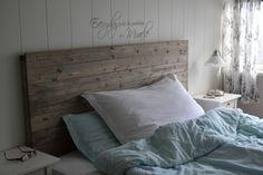 Etter å ha brukt timar på å leite etter inspirasjon til ein enkel, fin og heimelaga sengegavl, va...