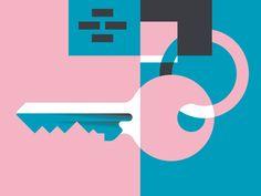 Key by Timo Meyer #Design Popular #Dribbble #shots