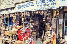 See What's Up for Grabs at Mumbai's Chor Bazaar Thieves Market: Handicrafts at Chor Bazaar