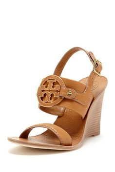 Tory Burch Amanda Wedge Sandal by Simply Sandals on @HauteLook