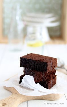Steamed Brownies...a new baking technique for me