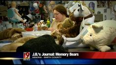 For more than 30 years, a Winona woman has been helping East Texans remember their family members. Sheriff J.B. Smith takes us inside her workshop to show us how a stuffed animal gives people something to hold onto.