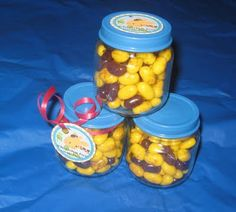Baby food jar party favors