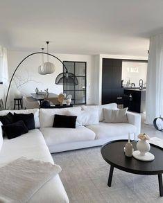 Living Room Decor Cozy, Living Room Modern, Home Living Room, Living Spaces, Home Room Design, Home Interior Design, Living Room Designs, House Design, Living Room Inspiration