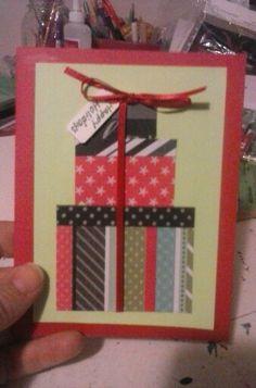 First card made