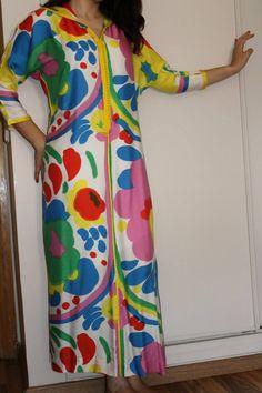 Djellaba aux couleurs d'été signée Beld'in Fashion