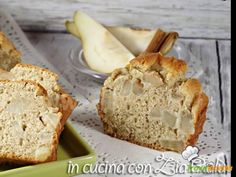 Plumcake pere e cannella senza zucchero – con stevia  #ricette #food #recipes