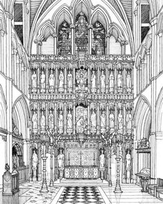 Philip Buckingham - http://ift.tt/2hfW4sc philipbuckingham.co.uk #drawing #architecture #design #illustration #art #sketch @philip.buckingham