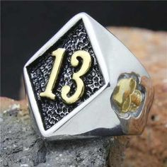 Cheap steel stick, Buy Quality steel shell directly from China steel chromium Suppliers: 2015 Cool Stainless Steel Biker 13 Skull Ring Mens Fashion Motorcycle Biker Band Party Ring Punk Rock, Mens Fashion Wear, Fashion Fashion, Cheap Rings, Party Rings, Fire Heart, Friend Tattoos, Types Of Rings, Chains For Men