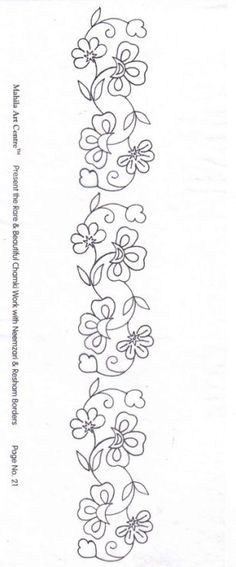 Embroidery Mexican Pattern Flowers 52 Ideas For 2019 Mexican Embroidery, Floral Embroidery Patterns, Embroidery Flowers Pattern, Simple Embroidery, Folk Embroidery, Machine Embroidery Patterns, Hand Embroidery Designs, Ribbon Embroidery, Flower Patterns