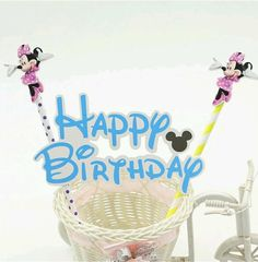 Minnie mouse Birthday Cake Topper Decoration Party Supplies. | Home & Garden, Greeting Cards & Party Supply, Party Supplies | eBay!