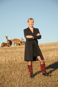 """Karen Morley the founder and CEO of Mountain Red. """"I created Mountain Red with a very simple vision – to produce the highest quality Deer Velvet product I could, so that I could give it to my dad to help him get well from a terrible joint complaint that was making him old before his time""""."""