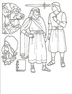 primary 3 lesson 17 we believe the book of mormon to be the word of god coloring sheet from the friend march 1992 here - Coloring Pages Primary Lessons