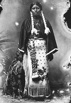 African-Indian Girl #history