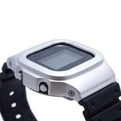 G-Shock bezel cover 5600 matte silver