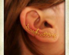Paroline dolci filo bracciale orecchio bracciale di Karmadia