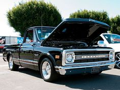 Dad's Truck, 70 Chevy